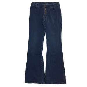 Frankie B. Button Fly Bootcut Jeans Size 6 USA